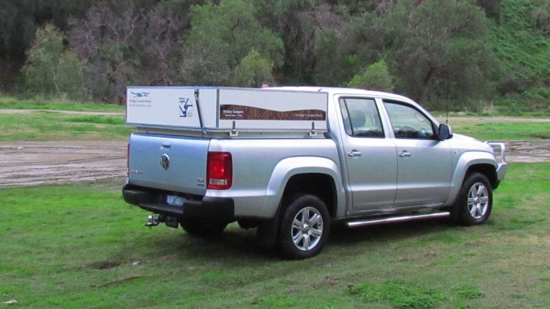 VW Amarok Brolga rear side